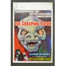The Creeping Flesh Original 1972 Belgian Horror Movie Poster Christopher Lee