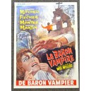 The Baron Vampire Horror Vintage Original Belgian Movie Poster Le Baron Vampire