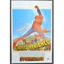 RARE 1977 Spider Man Original Belgian Movie Poster L'Homme Araignee