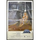 Star Wars Original U.S. One Sheet Movie Film Poster 1977 First Printing 77/21-0